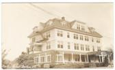 Barton, Vermont Real Photo Postcard:  Barton Hotel