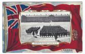 Halifax, Nova Scotia, Canada Patriotic Postcard:  Regiment on Parade
