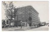 Bismarck, North Dakota Real Photo Postcard:  McKenzie Hotel