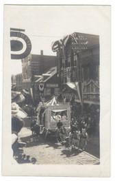 Biddeford, Maine Real Photo Postcard:  Parade on Main Street