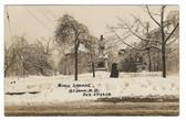 St. John, New Brunswick, Canada Real Photo Postcard:  1920 Ice Storm, King Square