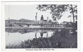 Park Falls, Wisconsin Vintage Postcard:  Flambeau Paper Mill