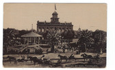 Phoenix, Arizona Vintage Postcard:  City Hall & Plaza