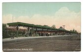 Auburn, New York Postcard:  New York Central Railroad Station