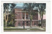 Pittsfield, Massachusetts Vintage Postcard:  Colonial Theatre