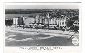Hollywood, Florida Real Photo Postcard:  Hollywood Beach Hotel