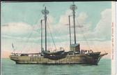 Noank, Connecticut Vintage Postcard:  Ram Island Lightship