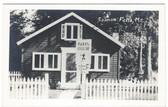 Hollis, Maine Real Photo Postcard:  Indian Cellar Restaurant, Salmon Falls