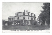Canaan, Connecticut Postcard:  Girls' Friendly Society Vacation House, Watson Home