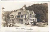 Amsden, Vermont Real Photo Postcard:  Store & Post Office