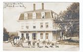 Abbot, Maine Real Photo Postcard:  Packard Inn