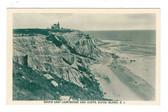 Block Island, Rhode Island Postcard:  South East Lighthouse & Cliffs