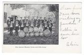 Moodus, Connecticut Postcard:  The Famous Moodus Drum and Fife Corps