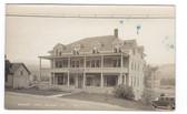 Barnet, Vermont Real Photo Postcard:  Barnet Inn