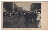 Cortland, New York Postcard: Entrance & Trolleys, 1905 Cortland County Fair