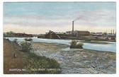 Biddeford, Maine Postcard:  Saco River Lumber Co.
