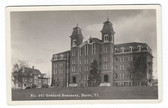 Barre, Vermont Real Photo Postcard:  Goddard Seminary