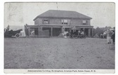 Salem Depot, New Hampshire Postcard:  Administration Building, Rockingham Aviation Park