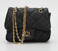 Chiara Mini Crossbody Handbags In Black
