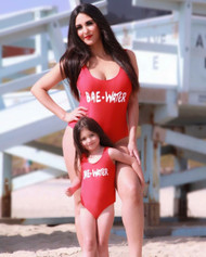 Mini me Liani one-piece swimsuit-Bae-Water