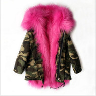 The Original IN Command FAUX FUR PARKA Coat (FOR TODDLERS - CHILD)