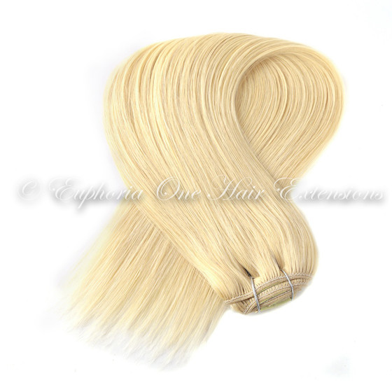Indian Remy Cuticle Correct Weft Weave Hair Extensions 100g 125g