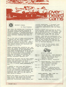 Overheard Cams June 1970