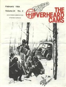 Overheard Cams September 1985