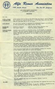 Overheard Cams February 1965