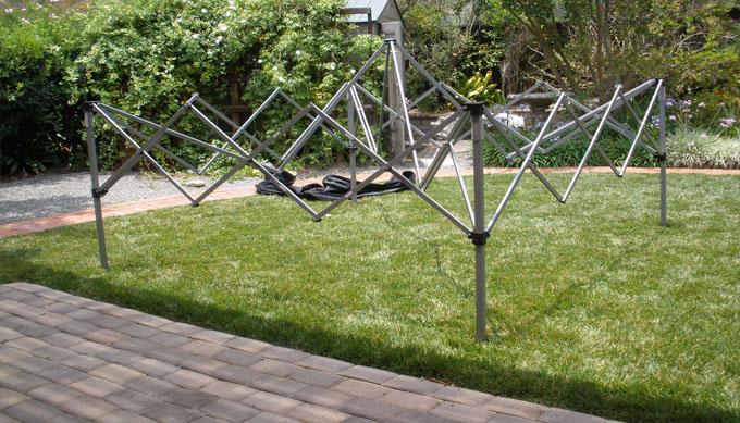 Step 1: Set up canopy