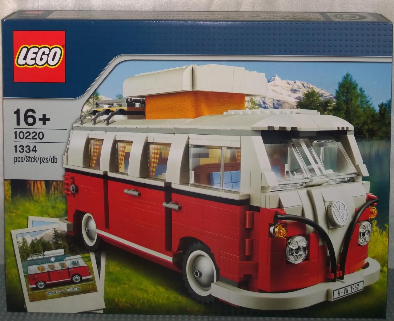 10220 lego volkswagen t1 camper van brick lady. Black Bedroom Furniture Sets. Home Design Ideas