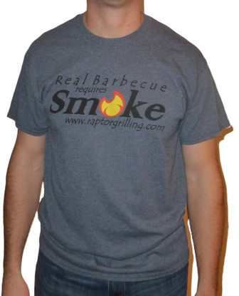 """Real Barbecue Requires Smoke"" t-shirt"