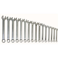 """1-5/16 - 2-1/2"""" Williams 16 Pcs Combination Wrench Set 12 Pt WS-1176"""
