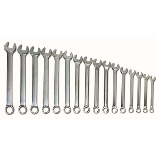"1-5/16 - 2-1/2"" Williams 16 Pcs Combination Wrench Set 12 Pt WS-1176"