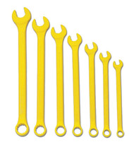 Williams Supercombo Comb Wrench Set, High Visibility Yellow 7 Piece WS-1170YSC