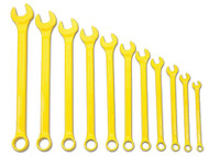 Williams Supercombo Comb Wrench Set, High Visibility Yellow 11 Piece WS-1171YSC
