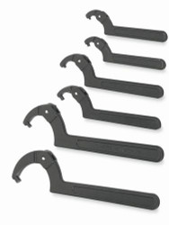 Williams Adjustable Pin Spanner Wrench Set 6 Piece WS-476
