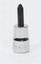 "# 0 Williams 1/4"" Dr Phillips Bit Socket - 35050"