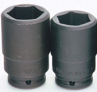"1 1/8"" Williams 3/4"" Drive Deep Impact Socket - 6 Pt"