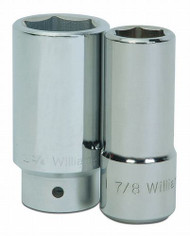 "1"" Williams 3/4"" Drive Deep Socket - 6 Pt"