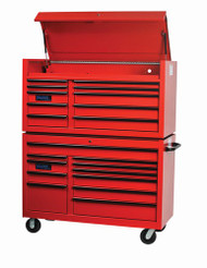 """55"""" Williams Roller Cabinet - 11 Drawer - Blue W55RC11BL"""