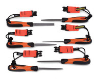 """4"""" Bahco Tools - Height Set Files with Handles 1-476-04-3-2-TH"""