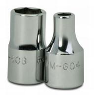 "5.5MM Williams 1/4"" Dr Shallow Socket 6 Pt - MM-605.5"