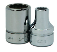 "6MM Williams 3/8"" Drive Shallow Socket - 12 Pt BM-1206"