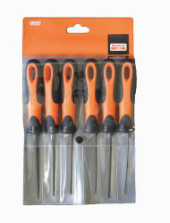 "8"" Bahco Engineering File Set, Ergo Handle 5 Piece - 1-478-08-1-2"