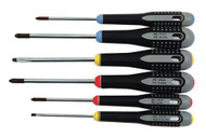 Bahco Mixed Screwdriver Set 6 Piece - BE-9886