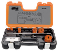 Bahco Plumbers Holesaw Set 9 Pieces - 862209