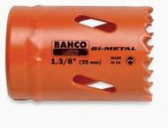"""2 7/32"""" Bahco Bi-Metal Holesaw - Individual Pack - 3830-56-VIP"""