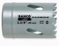 """2 1/16"""" Bahco Carbide-Tip Holesaw - Individual Pack - 3832-52"""