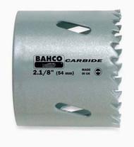 """2 1/8"""" Bahco Carbide-Tip Holesaw - Individual Pack - 3832-54"""